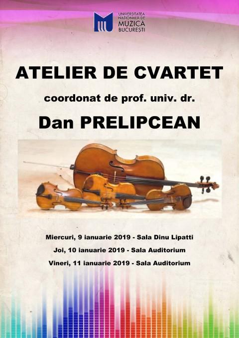 AFIS Atelierul de cvartet - ianuarie 2019,